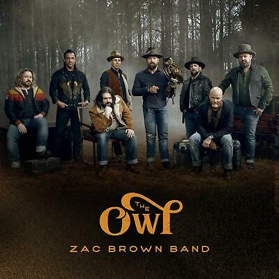 """ZAC BROWN BAND """"The Owl"""" 2019 CD BRAND NEW/SEALED"""