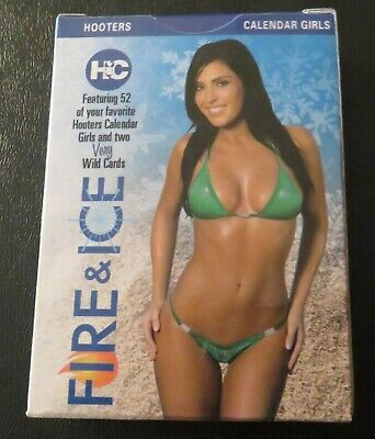 2010 Hooters Calendar Girls Fire & Ice Playing Cards!!! 1St Edition/Series 6!!