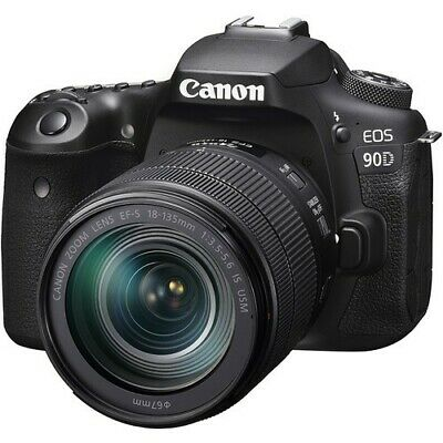 Canon - EOS 90D DSLR Camera with EF-S 18-135mm Lens