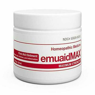 Emuaid MAX First Aid Ointment 2oz - For Eczema Acne Dermatitis Psoriasis & More