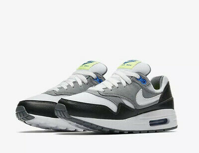New!! Nike Air Max 1 Size UK 6 EUR 40 White Multi Colour Trainers Sports Shoes!!