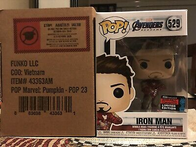 Funko Pop Avengers Endgame Iron Man With Gauntlet Nycc 2019 Shared Exclusive