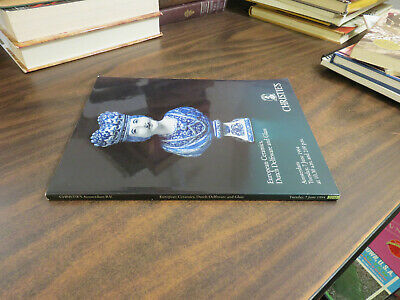 Christie's Auction Catalogue European Ceramics Dutch Delftware & Glass June 1994