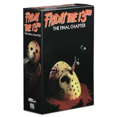 "New NECA Friday The 13th Final Chapter Jason Voorhees 7"" Action Figure Toys Gift"