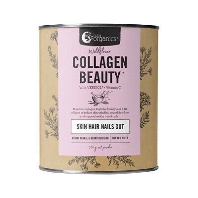 Nutra Organics Collagen Beauty with Verisol + Vitamin C (Skin Hair Nails 300g