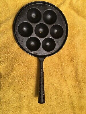 PRE GRISWOLD Egg Poaching  VINTAGE CAST IRON WALL HANGER