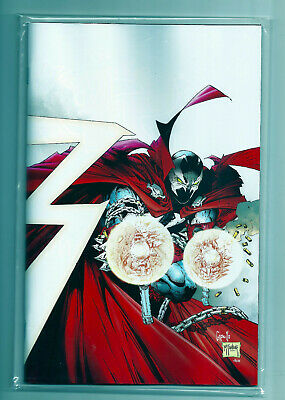 SPAWN 300 COVER K 1:25 GREG CAPULLO TODD McFARLANE VIRGIN VARIANT UNREAD NM!