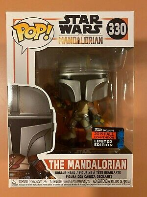 Funko Pop! Star Wars: The Mandalorian #330 NYCC 2019 Funko Shop Shared Exclusive