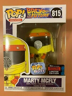 Funko Pop! Movies: Marty McFly #815 2019 NYCC Funko Shop Shared Exclusive