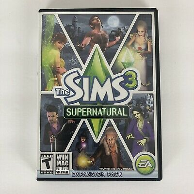The Sims 3: Supernatural Expansion Pack (Windows/Mac, 2012) w/Key