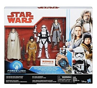 Star Wars The Last Jedi 4 Pack- Force Link. (Kohls Exclusive) Brand New Sealed!