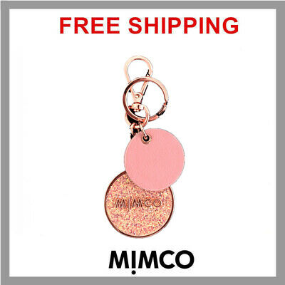 FREE SHIPPING Mimco Sublime Keyring PINK Rose gold toned BNWT DF RRP$69.95