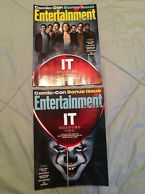 IT Chapter 2 Pennywise SDCC Exclusive Entertainment Weekly Connecting Covers