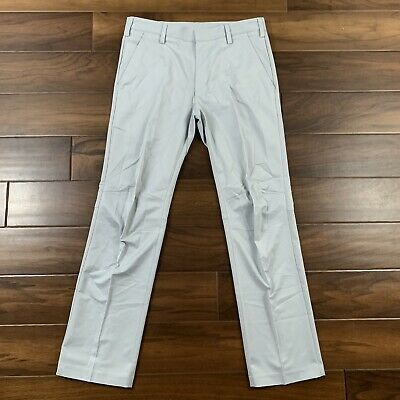 Adidas Golf Men's Size 30 X 30 Gray Climacool Puremotion Modern Fit Pants