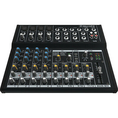 Mackie Mix12FX - 12-Channel Compact Mixer with Effects (Open Box)