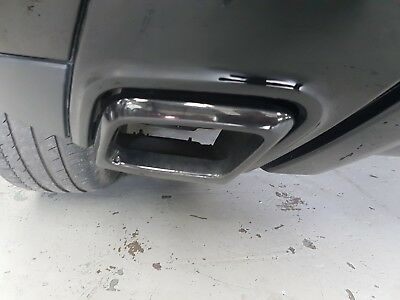 BLACK Exhaust tailpipe tips for Range Rover Evoque Dynamic upgrade black edition