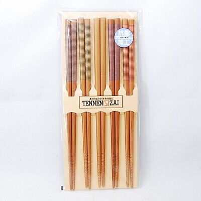 Japanese Chopsticks Hashi 2 Sets IKI Bamboo Wood 220 210mm Chopstick MADE JAPAN