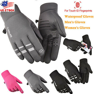 Winter Gloves Mens Womens Ski Outdoor Touch Screen Waterproof Thermal Mittens US