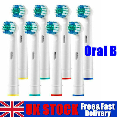 Electric Toothbrush Heads Compatible With Oral B Braun Toothbrush Head Models #