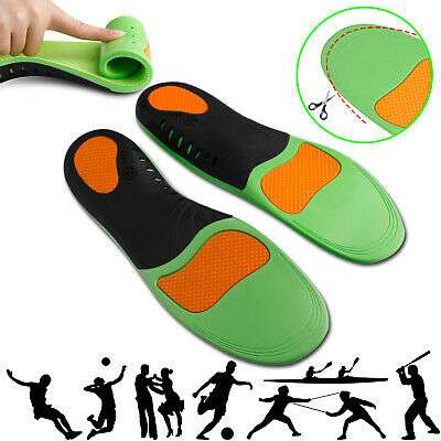 Orthotic Insoles Shoe Flat Feet High Arch Support For Plantar Fasciitis Inserts