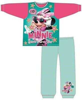 Girls Baby Kids Minnie Mouse Pyjamas Size Age 12 Months to 4 Years Disney PJ