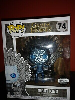 Metallic Night King on Throne!! HBO Exclusive! *Limited Edition* GOT Funko Pop!