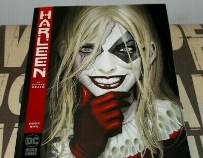 Harleen # 1 (Of 3) Book One 2019 Nm Dc Black Label New In Stock