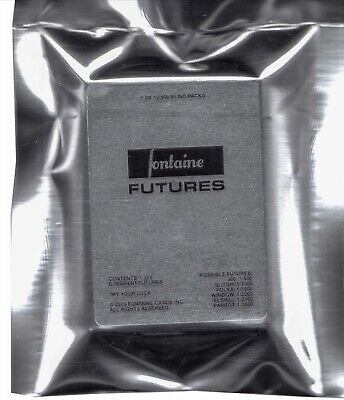 Fontaine Futures Blind Pack Playing Cards Random deck. New and sealed