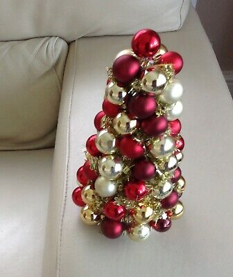 Lovely hand made  red and gold table decoration