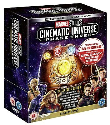Marvel Studios Cinematic Universe: Phase Three - Part Two (4 RELEASED 11/11/2019