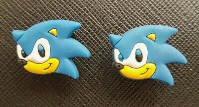 2 x Sonic The Hedgehog Shoe Charms Made For Croc shoes Crocs Jibbitz Charm