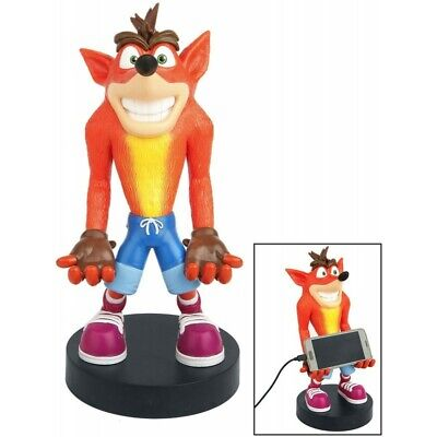 """Crash Bandicoot XL - Cable Guy 12"""" PS4 / Xbox One Controller Phone Switch Holder"""
