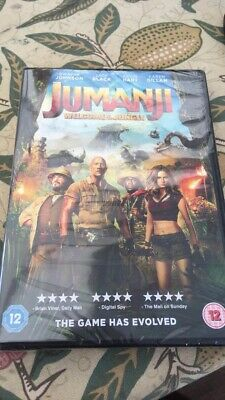 New and sealed - Jumanji welcome to the jungle DVD