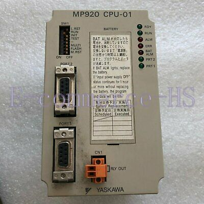 1Pc Used Yaskawa Mp920 Cpu-01 Jepmc-Cp200 Controller Tested In Good Condition