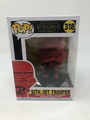 SEALED Star Wars: Rise of Skywalker Sith Jet Trooper Pop! Vinyl
