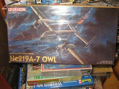 Dragon Heinkel He 217 A-7 Owl  Golden Wings Series  1:72