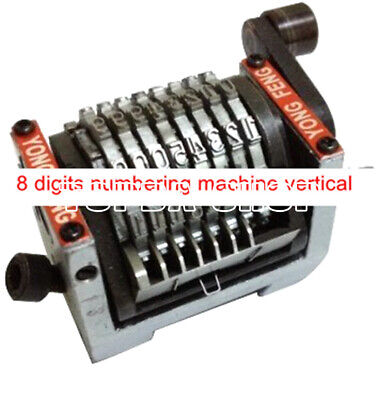 1pc For Offset Press 8-digit Local Tax General Invoice numbering machine
