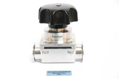 "Aquasyn 64017 316LSS 2"" Two-Way Diaphragm Valve (5765) g"