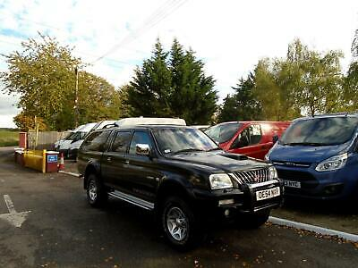 2004 Mitsubishi L200 2.5 TD Double Cab Warrior 4WD Pick Up Only 59K NO VAT P