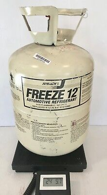 Johnsen's Freeze 12 Refrigerant 19 lbs 1oz in Partial 30 lb Tank R12 Replacement