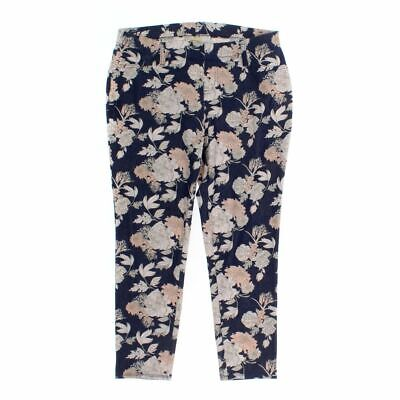 Faded Glory Women's Capri Pants size M,  blue/navy, pink,  cotton, polyester