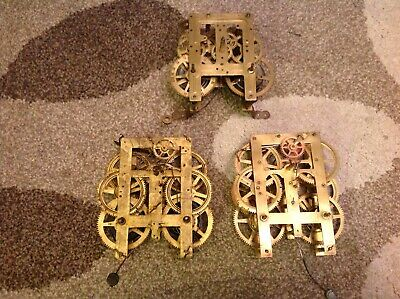 American wall clock mechanisms parts, Jerome newhaven period