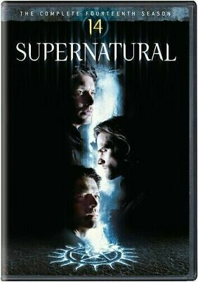 Brand New Sealed Supernatural Complete Season 14 14Th (Dvd) No Reserve Auction!