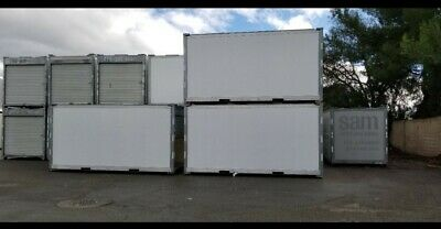 Pre-owned 16' Ft Portable Storage Container on Wheels for Sale