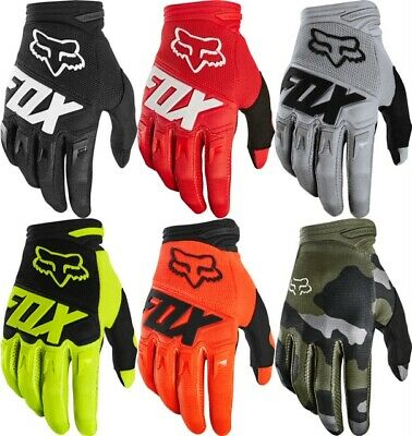 2020 Fox Racing Youth Dirtpaw Fyce Gloves-Blue//Red-YXS