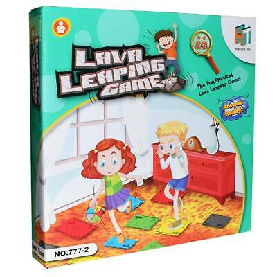 Lava jumping! The Floor is Lava! Interactive Board Game Kids Adult (Ages 5+) Fun