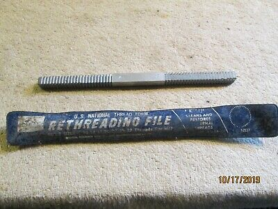 Vintage Sears 9-52117 Rethreading Files 9-32 And 11-24 Threads