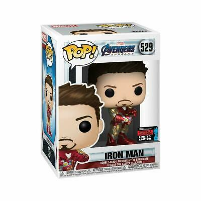 Funko POP! Marvel: Iron Man with Infinity Gauntlet 2019 NYCC SHARED Exclusive