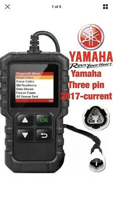 Yamaha  YS-125 FI, OBD2 fault code scanner diagnostic tool
