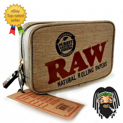 RAW Smell Proof Zip Bag Smokers Odour Protection Pouch - Small, Medium or Large